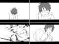 고무고무 제트피스톨! : 까부는 천룡인한테 통쾌하게 한방먹여줌ㅋㅋㅋ는개힘듬-- 스케치판 ,sketchpan