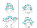 점프하는낙서 : 점프하는낙서 스케치판 ,sketchpan