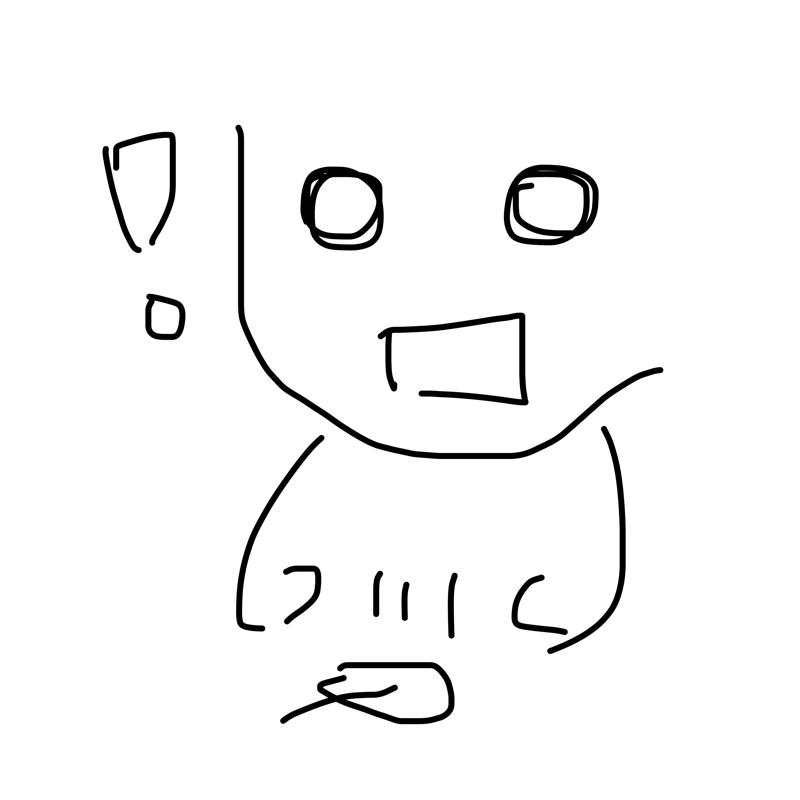 놀라서 떨.. : 놀라서 떨어뜨림 스케치판 ,sketchpan