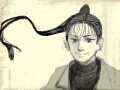 자캐 : 고1때만든 캐릭터인데 가끔 생각난다 ㅎㅎ 스케치판 ,sketchpan
