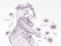 꽃여인 : 꽃여인 스케치판,sketchpan