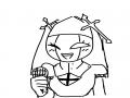 수녀님 낙.. : 수녀님 낙서어... 스케치판,sketchpan