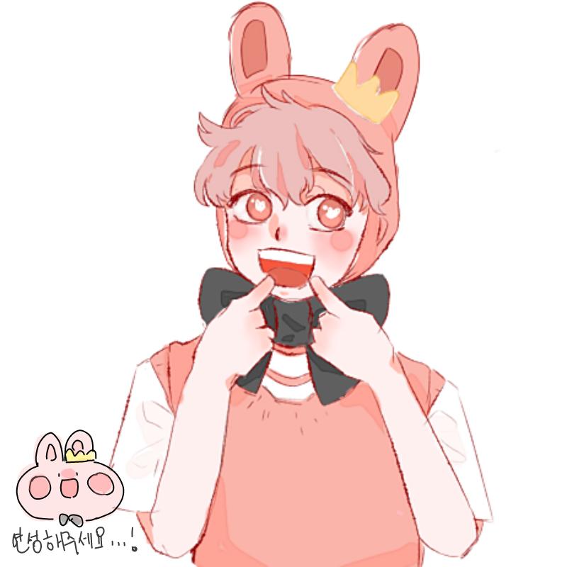 토끼..넘 .. : 토끼..넘 귀엽습다!!! ((움쪽쪽)) ♡ 연성해봤어요~ 스케치판 ,sketchpan