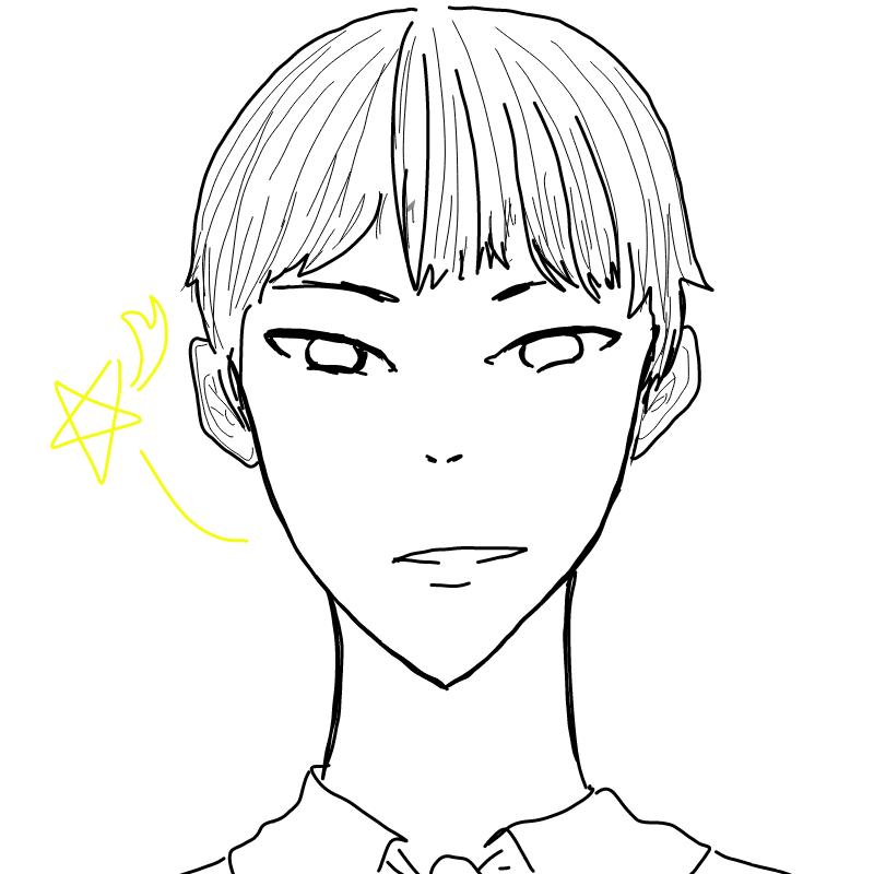 꿈에나온남.. : 꿈에나온남자애 스케치판 ,sketchpan