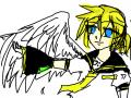 카가미네 렌 : 아아..렌군 사랑스러워.. 스케치판 ,sketchpan