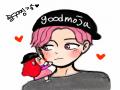굿모닝!!♡.. : 굿모닝!!♡♡♡♡ 전이제 자러 ~.~♡ 스케치판,sketchpan