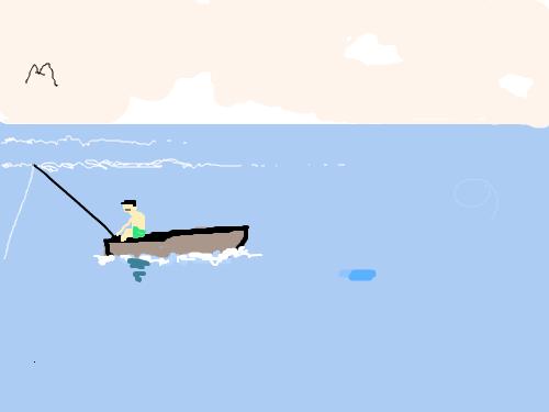 죠수가 나타났다!!!ㅋ : 낚시하다 봉변당하는 환상입니다 ㅎㅎㅎ 스케치판 ,sketchpan