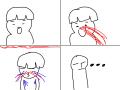 ... : 코피나오지...눈물 나오지... 겨땀나오지..도데체 뭐가 나오는 겅... 스케치판 ,sketchpan