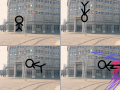 스틱맨의 발차기 : 부아아아아아아앙 스케치판 ,sketchpan