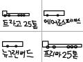 상용차 트럭 버스 : 트라고 25톤 , 에어로스페이스 , 뉴그랜버드 , 노부스 25톤 , 프리마 25톤 스케치판 ,sketchpan