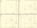 Antīkā ģeometrija : Aprēķini visu figūru laukumu un tilpumu summu 스케치판 ,sketchpan