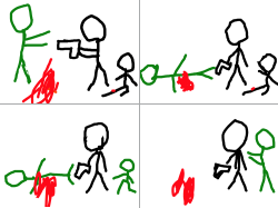 좀비 : ㅇㄻㅎㄻㄹ , 스케치판,sketchpan,손님