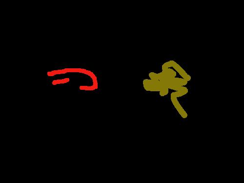 개개개개개개 : 평화롭게 개가 개밥을 먹는 장면입니다 스케치판 ,sketchpan