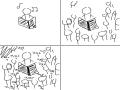 첫영상 : 첫영상 스케치판 ,sketchpan