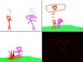 Irina -Don\'t hurt me : Stāsts par mīlestību ar intrigu. 스케치판 ,sketchpan