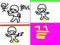 방구 부스터! : 밥바바바바바바바바방구 부스터터터터텉 스케치판 ,sketchpan