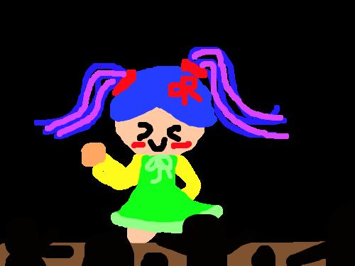 아이돌 : 둠칫둠칫 스케치판 ,sketchpan