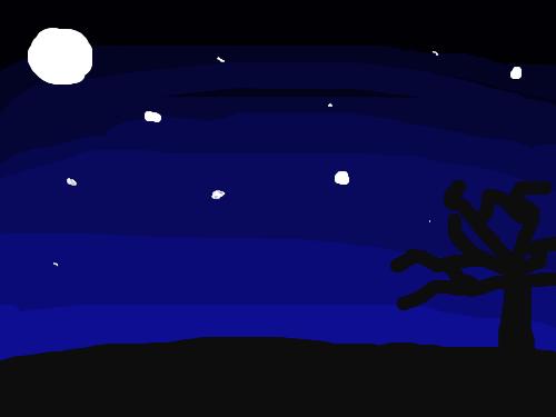 밤하늘 : 예븐 밤하늘 스케치판 ,sketchpan