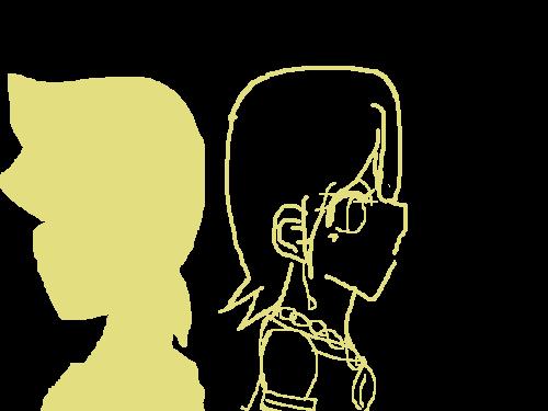 악의하인 : 마우스로 그려 힘들다 스케치판 ,sketchpan