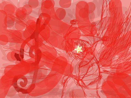 삐애로의 노래 : 삐애로의 노래 스케치판 ,sketchpan