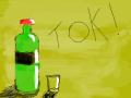 술병 : 술병술잔 스케치판 ,sketchpan