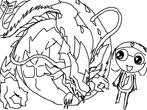 타마마워리어.....(채색하기 넘 힘듬 그래서 안했음..) : 으허헣 또 망ㅎ랫나봅니다... 스케치판 ,sketchpan