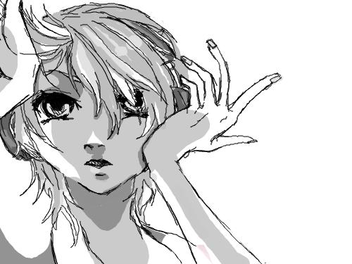 렌렌 : 렌..... 스케치판 ,sketchpan