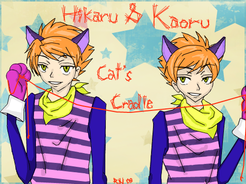 ouran-highschool-host-club-twins-cat