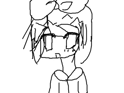 카가미네 린 : 밑그림연습중~~~~ 스케치판 ,sketchpan