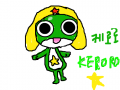 케로로 : 개구리 ㅋㅋㅋ 스케치판 ,sketchpan