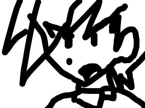 green : ..xD estaba probando el sistema de dibujo nomas xD :3digamos q es un boceto xD 스케치판 ,sketchpan