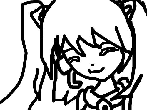 미쿠피생아닌 라임 : ...... 스케치판 ,sketchpan