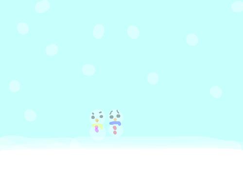 겨울 : 겨울입니다.. 스케치판 ,sketchpan