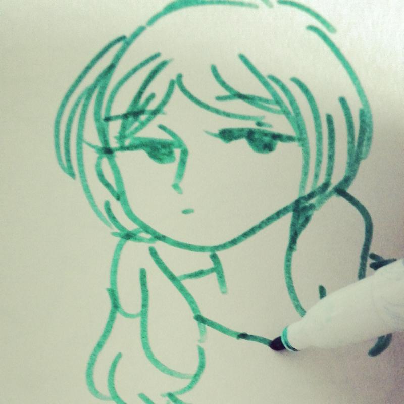 (아무생각.. : (아무생각없음) 스케치판 ,sketchpan