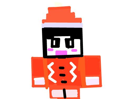 산타 도티 : 산타가 된 도티 스케치판 ,sketchpan