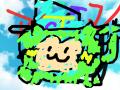 괴도조커 : 이크 처음이라 그림이 겹쳤네 ㅠㅠ 스케치판 ,sketchpan