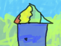 집 그리기 : 집 그리기 스케치판 ,sketchpan