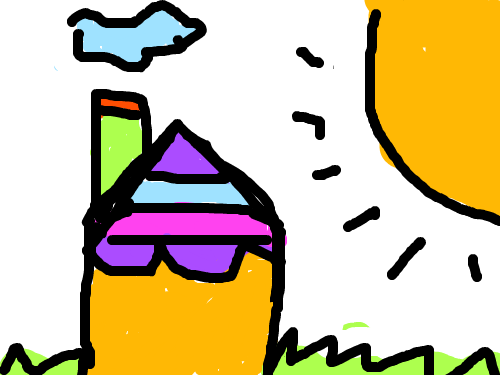 집 그리기 : 집그리기 스케치판 ,sketchpan