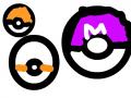 포켓몬볼2 : 마스터볼은필수 스케치판 ,sketchpan