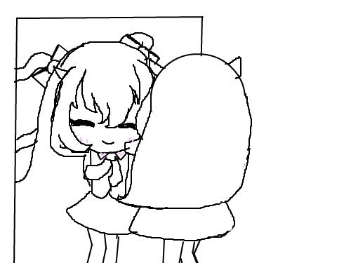엔젤릭버스터 : 티어 스케치 스케치판 ,sketchpan