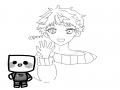 사람으로 .. : 사람으로 뵨신~☆ 스케치판 ,sketchpan