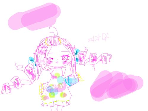 잠옷소녀 : 잠옷소녀이다 스케치판 ,sketchpan