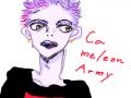chameleon army : like chameleon 스케치판 ,sketchpan