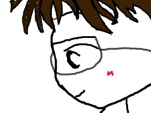 좋아하는 사람 : 코난을 그리다가 다른 사람이 됨ㅋㅋㅋ 스케치판 ,sketchpan