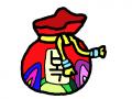 복주머니 : 복주머니 스케치판 ,sketchpan