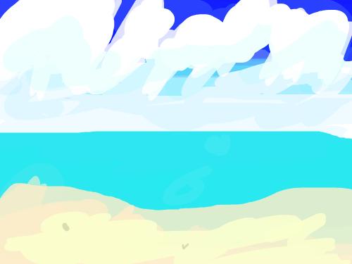 바다 : 바다이다 스케치판 ,sketchpan