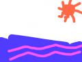 바다 : 바다입니다 스케치판 ,sketchpan