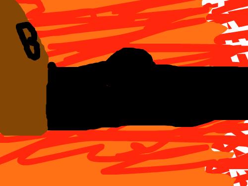 원피스루피인원(상디 검은다리) : 검은다리상디가 필살기 디아블루잠브라는기술을쓰는모습 스케치판 ,sketchpan