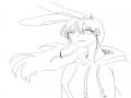 유니.. 미완..☆ : 이제 곧 완성될거에요..! 스케치판 ,sketchpan