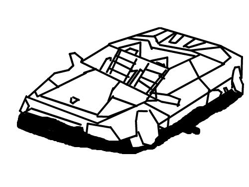람보르기니 : 람보르기니 스케치판 ,sketchpan